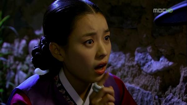Dong yi Pregnant Dong-yi Asks Her King if he